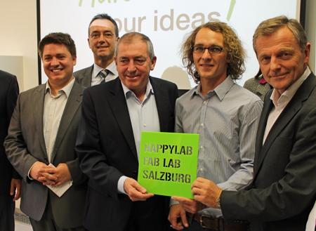 HappylabEröffnung_Stelzer,Pfeiffenberger, Schaden,Riedlsperger, Scharfetter_web