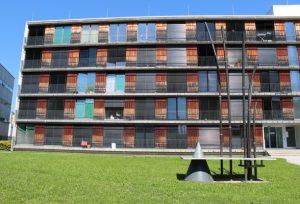 150 Appartement stehen für Studentinnen und Studenten im Techno-Z zur Verfügung.