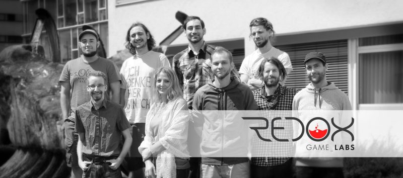 Das Team von REDOX Game Labs