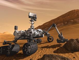 Basiert auf Wind River Technologie: Mars Rover Curiosity