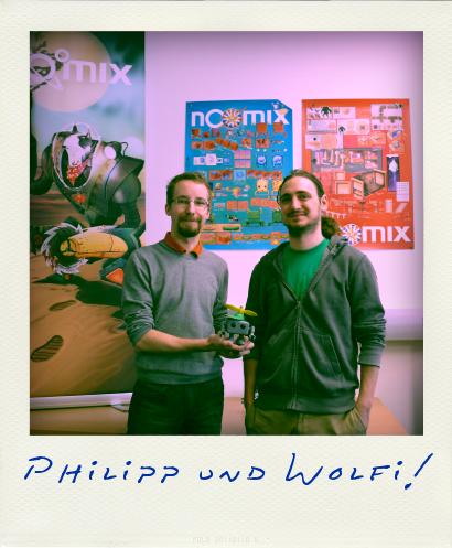 Philipp Götz und Wolfgang Schütz