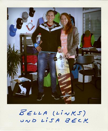 Chrisabel Bella Prischl und Lisa Beck