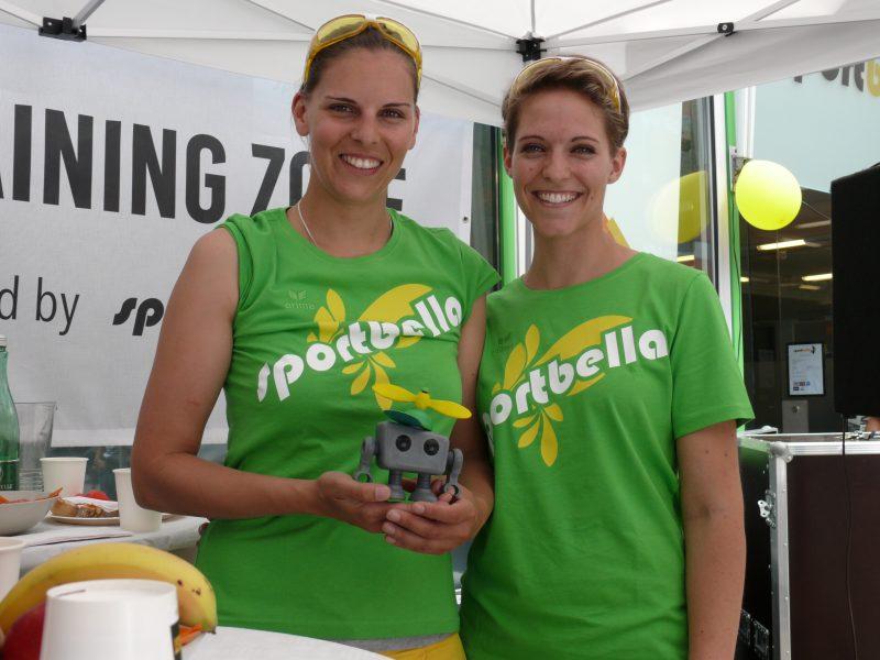 Bella Prischl, T1Z1 und Lisa Beck