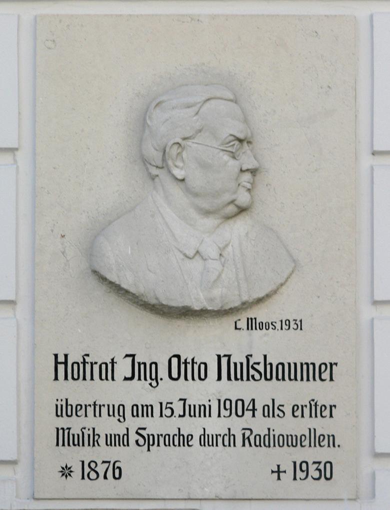 Gedenktafel Otto Nußbaumer