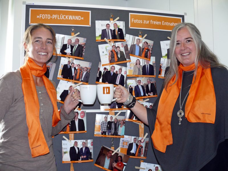 Julia Eder und Birgit Strohmeier von der Salzburg Research