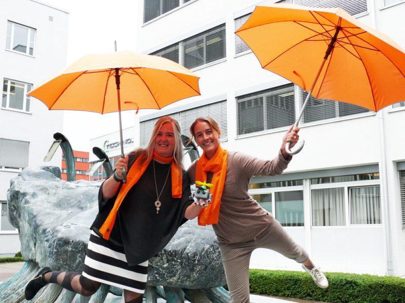 Birgit Strohmeier und Julia Eder