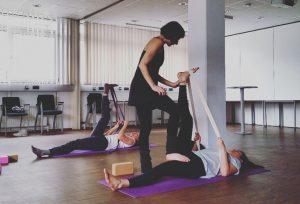 Yoga mit Pascale im Techno-Z