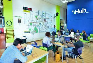 Der iHub in Nairobi ist die wichtigste Keimzelle für Tech-Startups in Kenia. Der Coworking Space wurde von Erik Hersman im März 2010 gegründet (Bild: Ulkoministeriö/Alex Kamweru, CC BY-NC-ND 2.0).