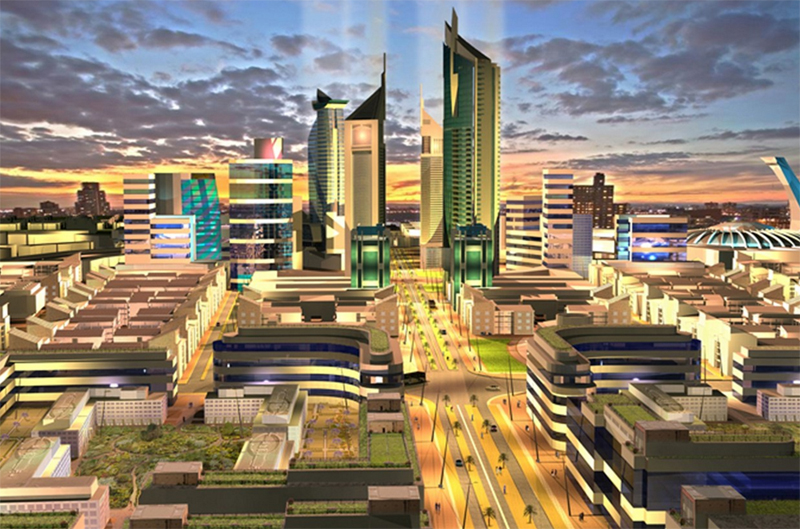 Die Konza Techno City wird zum Herzstück der Silicon Savannah (Bild: Konza Techno City)