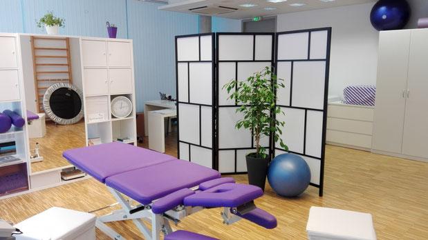 Seit November im EG von Techno 10: Physiotherapie-Praxis Elke Weese