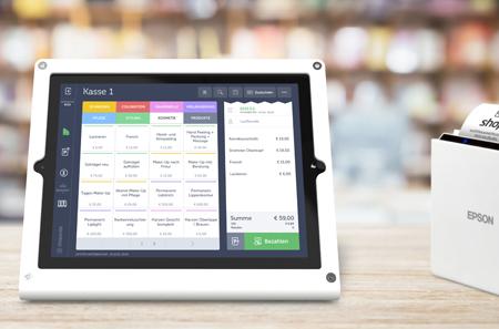 shoperate-Registrierkasse auf iPad
