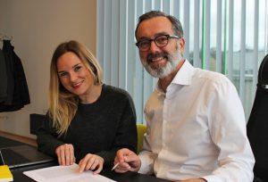 Romy Sigl und Werner Pfeiffenberger bündeln Coworking Know how.