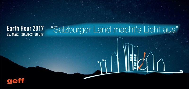 Klimaschutz Salzburger Land macht's Licht aus
