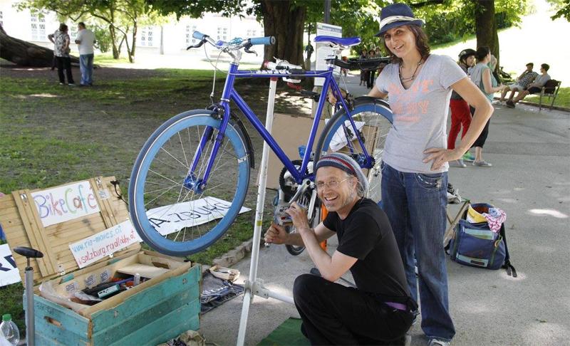 Fahrrad reparieren mit Rio: 12. April im Techno Z Wir sind
