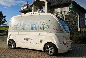 Digibus: Selbstfahrender Minibus in Koppl