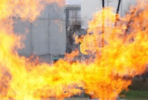 Feuerlöscherübung Techno-Z
