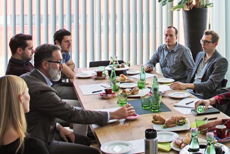 Techno-Z Business Frühstück Günter Matzinger