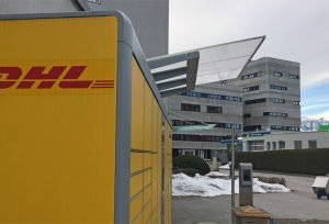 DHL-Packstation im Techno-Z