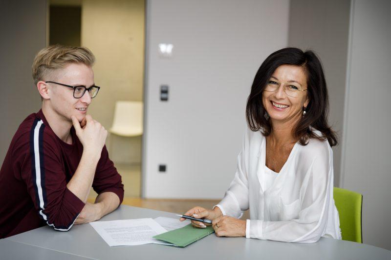Maresi Stoellinger, Leiterin Techno-Z Studentenheim