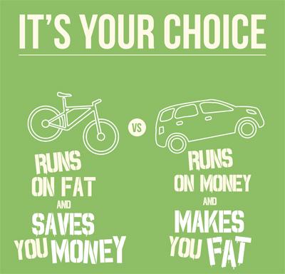 Omicron Mobiliätsmotivation: Rad versus Auto